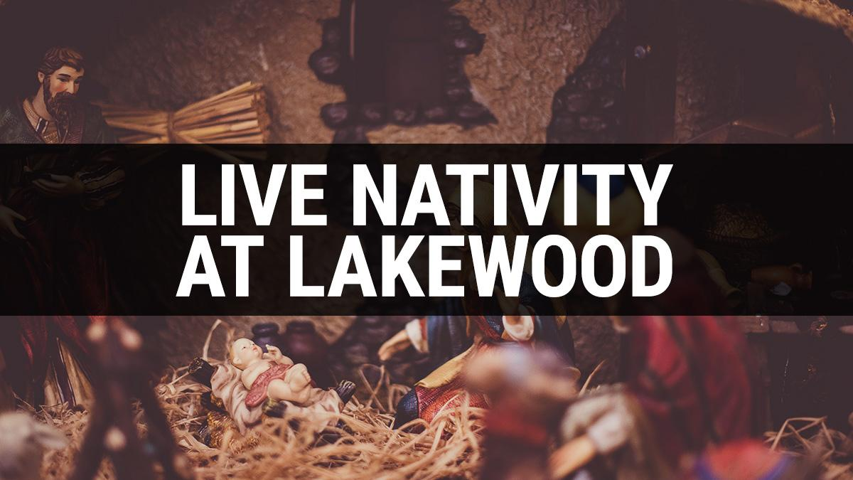 Live Nativity at Lakewood