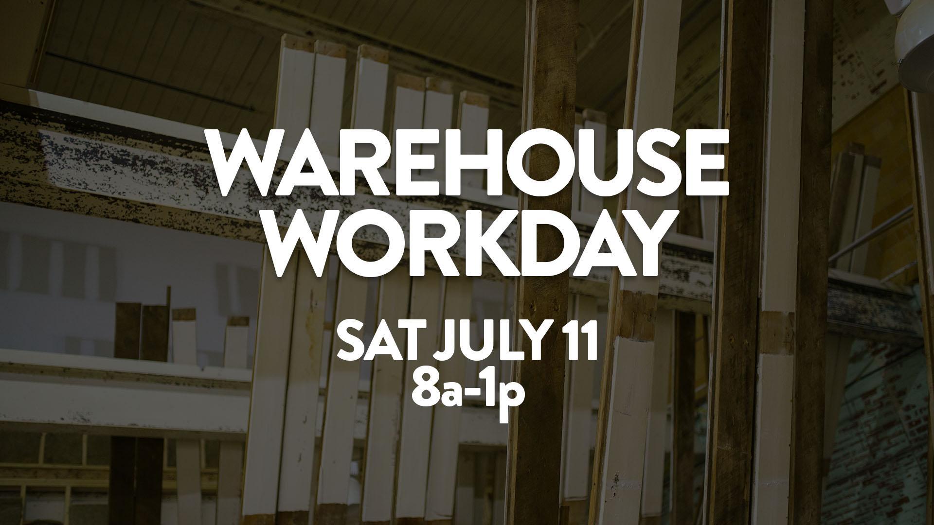 Warehouse Work Day