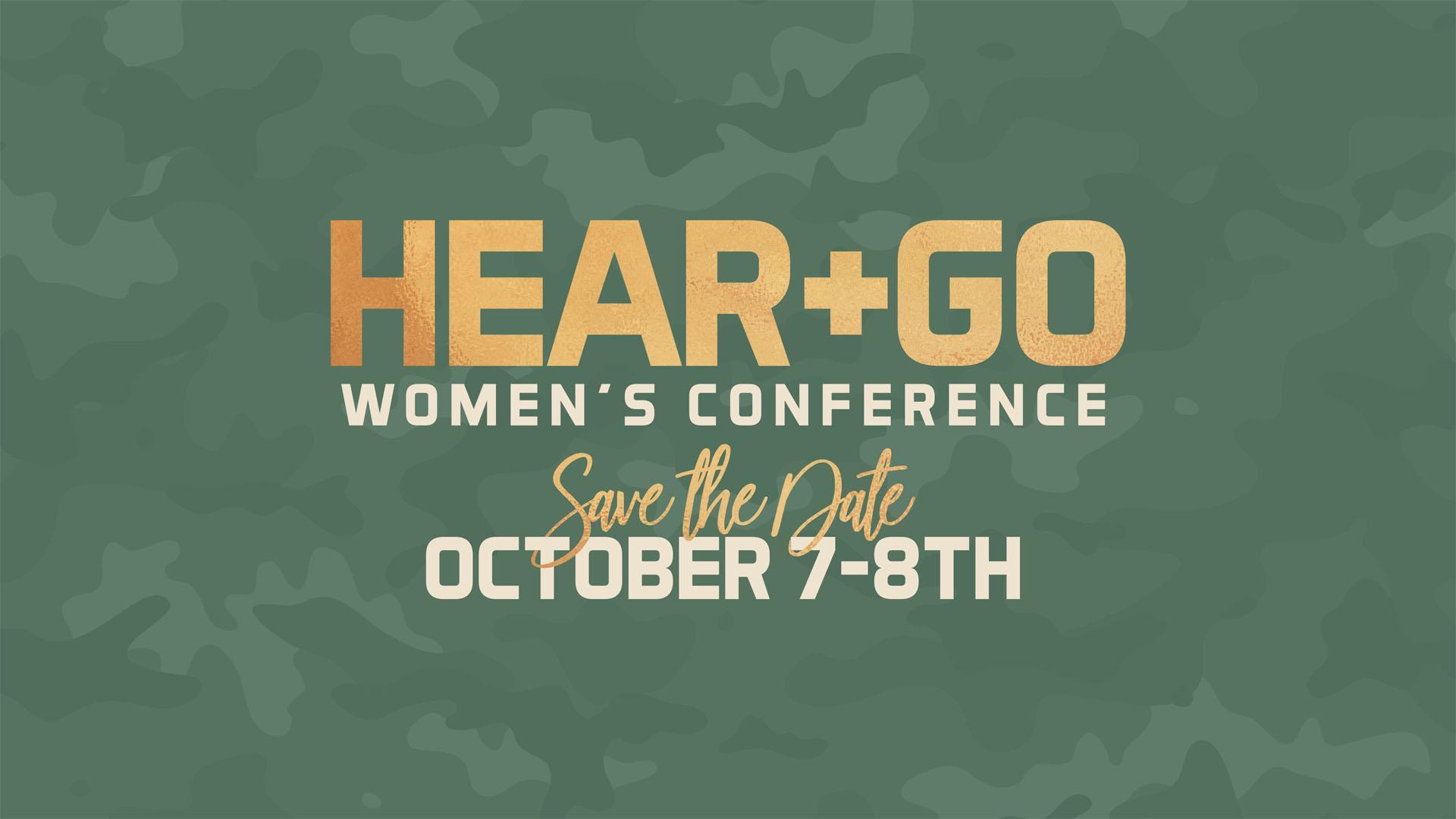 Hear + Go Women's Conference